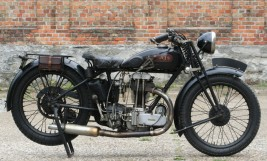 1929 AJS M6 350cc OHV