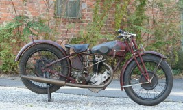 Rudge Whitworth 1928 500cc OHV -sold to Belgium-