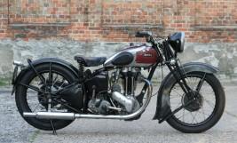 Ariel VG De Luxe 500cc OHV 1939 -sold to Austria-