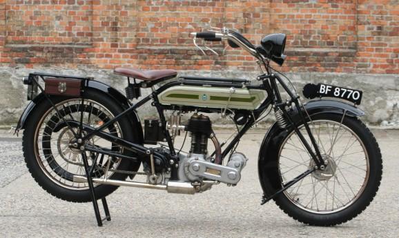 Triumph SD 550 cc 1924 -sold to Austria-
