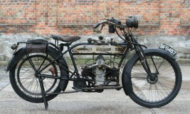 Douglas 2¾hp 350cc 1915 original running condition
