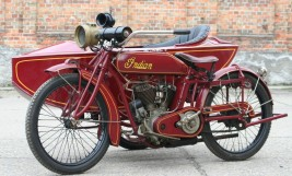 1917 Indian Powerplus 1000cc Combination