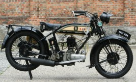 BSA 1927 500cc colonial model -sold-