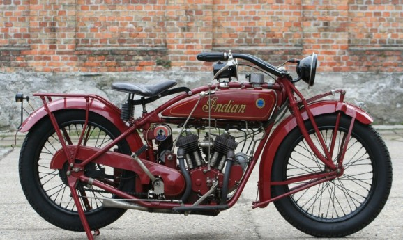 Indian Scout 1923 600cc V-twin
