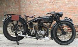 Rudge Standard 1927 500cc OHV 4 Valve