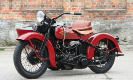 Harley Davidson Model R 750cc Combination