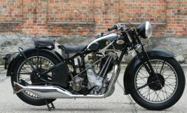 BSA Sloper M35-11 600cc OHV 1935