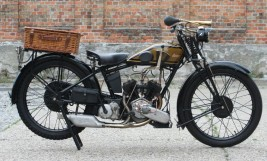 1928 James Model 12 500cc V-twin -SOLD-