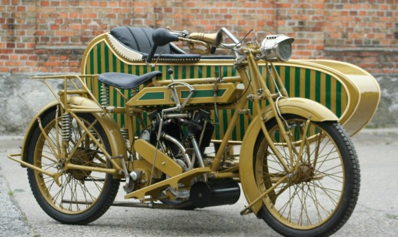 Matchless Model H 1000cc 1922 -sold to UK-