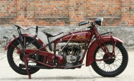 Indian 101 Scout 1928 600cc -sold to UK-