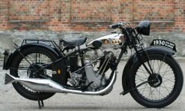BSA Sloper 350 ohv 1930