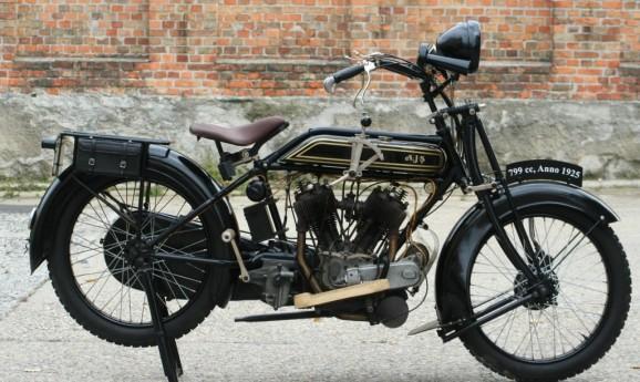 AJS 1925 800cc Model E2