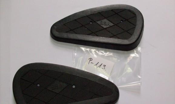BSA kneegrip rubber