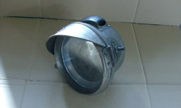 F.R.S. Birmingham Large Acetylene Headlamp