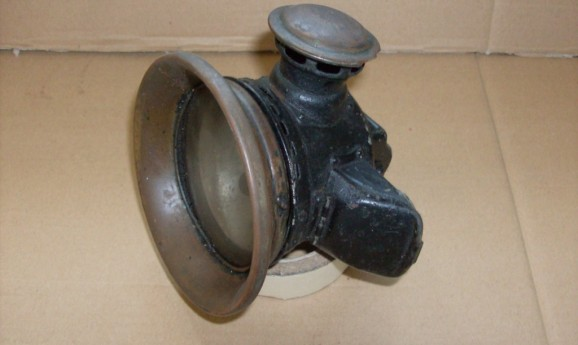 2_Lucas No. 354 Carbide lamp, for sidecar