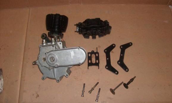 AJS Engine 1928 350cc OHV