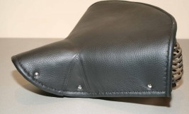 Terry Saddle with Leather