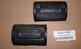 Norton footrest rubber
