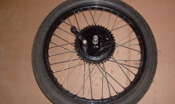 """Rear wheel 21"""""""