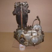 FN M67 OHV Engine and Gearbox