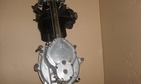 NSU OSL 350 Engine