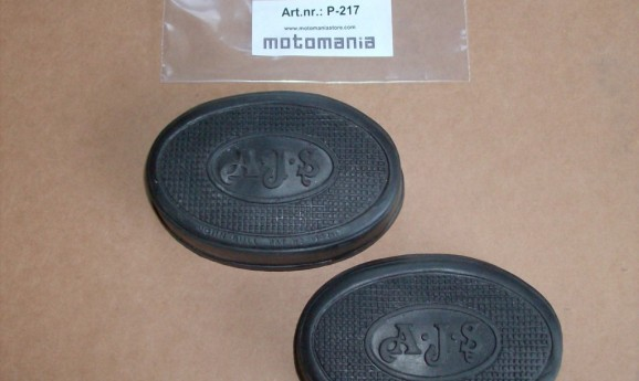 AJS kneegrip rubber