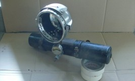 S.A.M. Motorcycle Acetylene Lamp