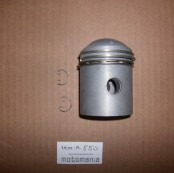 Mahle piston with ring