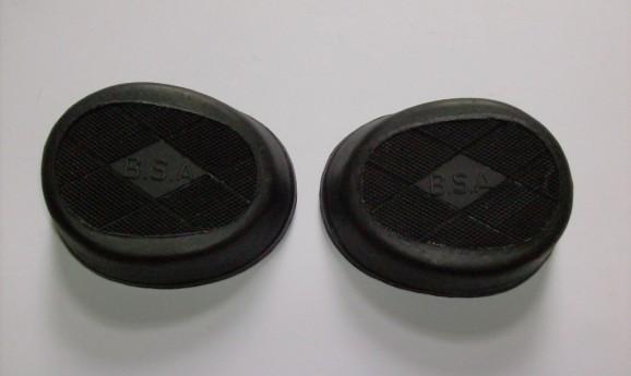 BSA kneegrip rubber small